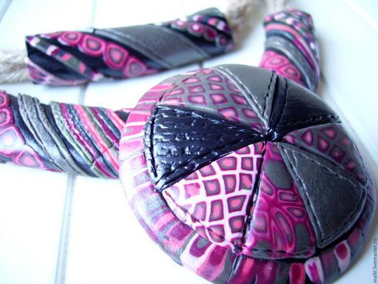 """Колье, бусы ручной работы. Ярмарка Мастеров - ручная работа. Купить """"Южный зонт """"Колье. Handmade. Украшения ручной работы"""