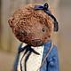 Мишки Тедди ручной работы. Ярмарка Мастеров - ручная работа. Купить Мишка......... Handmade. Коричневый, мишка в подарок, мишка в одежке