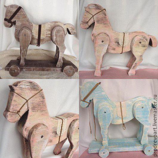"""Статуэтки ручной работы. Ярмарка Мастеров - ручная работа. Купить Интерьерная игрушка """"Лошадка"""". Handmade. Сувениры и подарки, лошадка"""