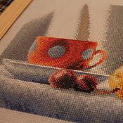 Картины и панно ручной работы. Ярмарка Мастеров - ручная работа Натюрморт с сахарницей. Handmade.