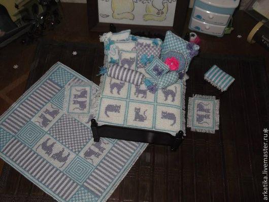 Текстиль, ковры ручной работы. Ярмарка Мастеров - ручная работа. Купить Спальный комплект. Handmade. Белый