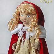Dolls handmade. Livemaster - original item Lizzie, Christmas doll, art doll, collectible dolls. Handmade.