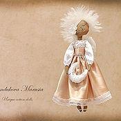 """Куклы и игрушки ручной работы. Ярмарка Мастеров - ручная работа """"Ангел оберегающий детский сон"""" - авторская кофейная куколка. Handmade."""