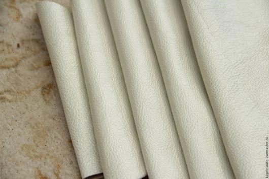 Шитье ручной работы. Ярмарка Мастеров - ручная работа. Купить №7.22 Белый перламутр 1376 грамм.1мм.Натуральная кожа. Handmade.
