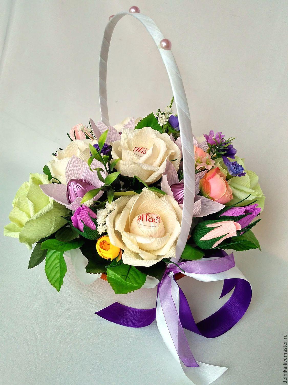 Идеи букетов, корзин на выпускной, цветов цветы