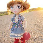 Куклы и пупсы ручной работы. Ярмарка Мастеров - ручная работа Текстильная кукла Нина. Handmade.