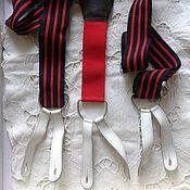 Аксессуары винтажные ручной работы. Ярмарка Мастеров - ручная работа Подтяжки винтажные 3 вида. Handmade.
