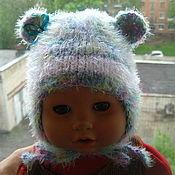 """Работы для детей, ручной работы. Ярмарка Мастеров - ручная работа шапочка для  новорожденного """"Ушастик"""". Handmade."""