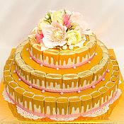 Торт из конфет ( торт шкатулка)