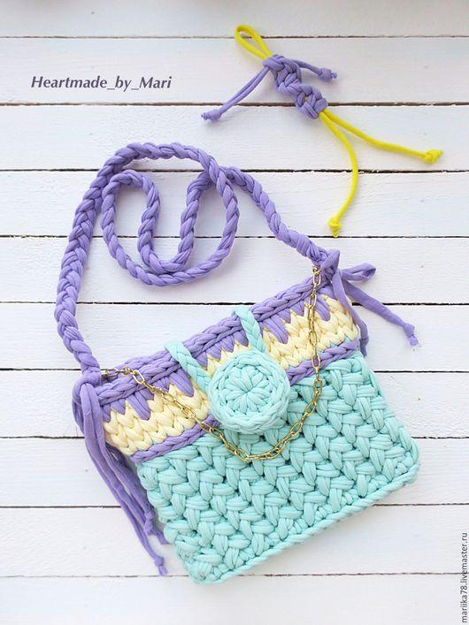 Женские сумки ручной работы. Ярмарка Мастеров - ручная работа. Купить Детская сумочка. Handmade. Комбинированный, сумочка для девочки