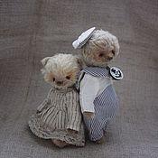 """Куклы и игрушки ручной работы. Ярмарка Мастеров - ручная работа """"Я морячка, ты - моряк..."""". Handmade."""