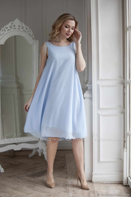 """Платье """"Голубой ручей"""", Платья, Санкт-Петербург,  Фото №1"""