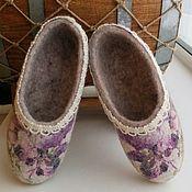 Обувь ручной работы. Ярмарка Мастеров - ручная работа Тапочки валяные детские. Handmade.