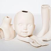 Материалы для творчества ручной работы. Ярмарка Мастеров - ручная работа Набор для создания куклы №3.1 Авторская кукла с улыбкой. Handmade.