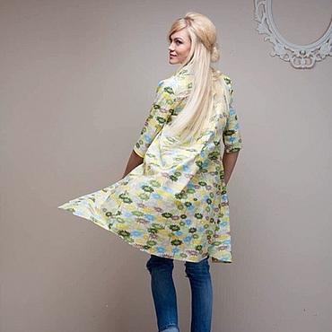"""Одежда ручной работы. Ярмарка Мастеров - ручная работа Платье -рубашка """"Виолла"""". Handmade."""