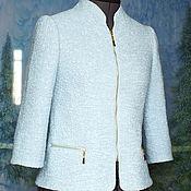 Одежда ручной работы. Ярмарка Мастеров - ручная работа Валяный жакет из льна и шерсти ...А если это любовь. Handmade.