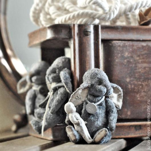 Мишки Тедди ручной работы. Ярмарка Мастеров - ручная работа. Купить Харди, Свифт... и Джеф. Handmade. Серый, заяц, оливковый