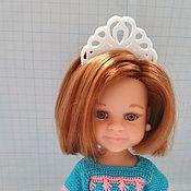 """Одежда для кукол ручной работы. Ярмарка Мастеров - ручная работа Ободок """"Кокошник """" для кукол Paola Reina. Handmade."""