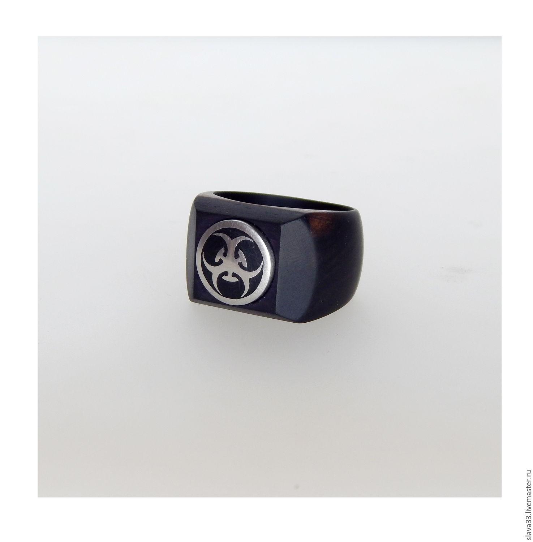Перстень из эбена и стали, Кольца, Владимир, Фото №1