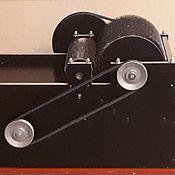 Инструменты для валяния ручной работы. Ярмарка Мастеров - ручная работа Инструменты для валяния: Кардер барабанный электрический. Handmade.