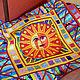 Лоскутное покрывало с аппликациями - Звезда по имени Солнце - 2, Текстиль ковры, Минск, Фото №1