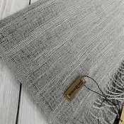 Аксессуары handmade. Livemaster - original item Scarves: Handmade woven scarf made of Italian yarn cotton lurex. Handmade.