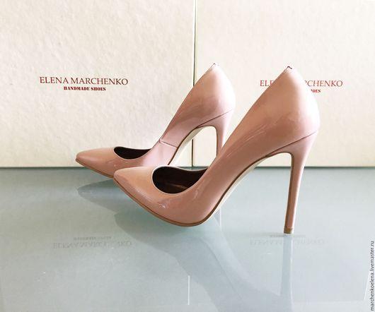 Обувь ручной работы. Ярмарка Мастеров - ручная работа. Купить Туфли. Handmade. Кремовый, туфли из кожи, обувь на заказ