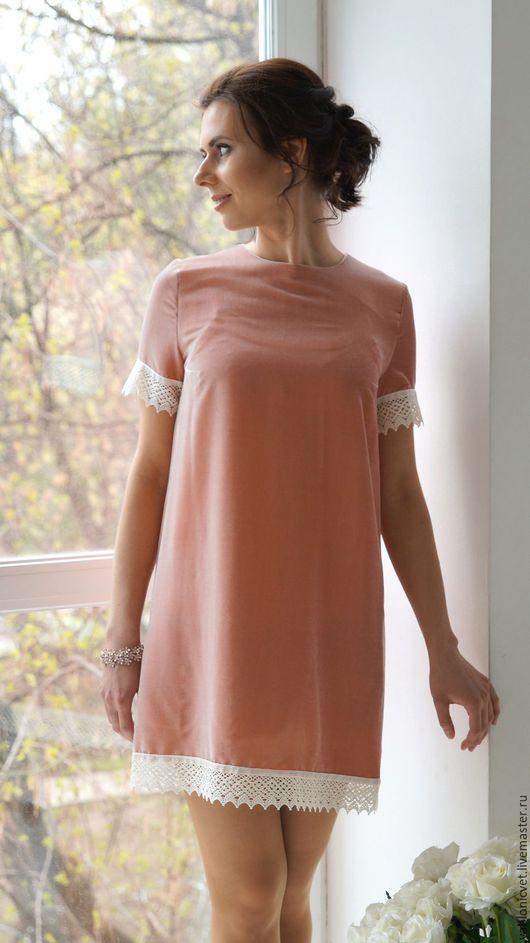 Платья ручной работы. Ярмарка Мастеров - ручная работа. Купить Платье из итальянского шелкового бархата. Handmade. Кремовый, шелковое мыло