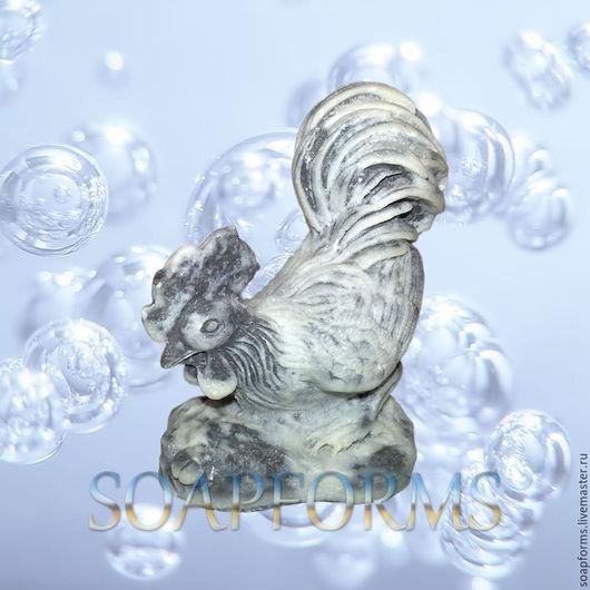 Силиконовая форма для мыла `Петух 2` 3D Купить силиконовую форму `Петух 2` 3D