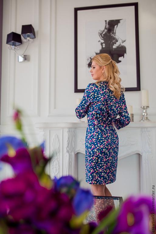 Платья ручной работы. Ярмарка Мастеров - ручная работа. Купить Платье / Платье из атласной ткани. Handmade. Платье вечернее