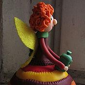 """Для дома и интерьера ручной работы. Ярмарка Мастеров - ручная работа Фигурка """"Фея зеленого сундучка"""". Handmade."""
