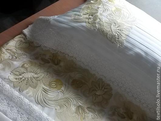 Персональные подарки ручной работы. Ярмарка Мастеров - ручная работа. Купить Комплект постельного белья. Handmade. Бежевый, ручная работа