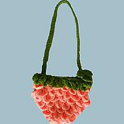 Работы для детей, ручной работы. Ярмарка Мастеров - ручная работа вязаная сумочка для девочки. Handmade.