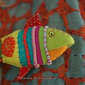 Куклы и игрушки ручной работы. Ярмарка Мастеров - ручная работа Боция-клоун креативная брошь. Handmade.