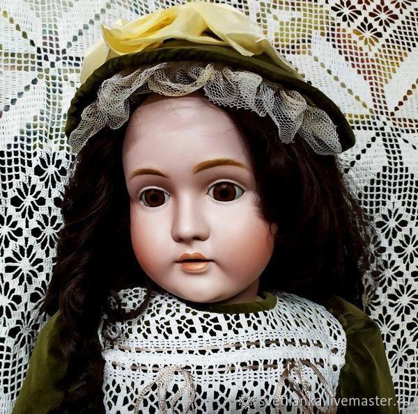 Антикварная кукла от J.D.Kestner, молд 171. Рост 87 см, Куклы и пупсы, Белозерск,  Фото №1