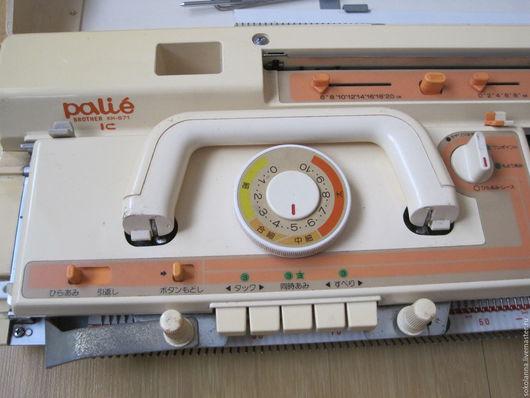 Вязание ручной работы. Ярмарка Мастеров - ручная работа. Купить BROTHER  KH-871. Handmade. Оранжевый, металл