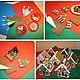 Кулинарные сувениры ручной работы. Ярмарка Мастеров - ручная работа. Купить Наборы для групповых мастер-классов по домикам. Handmade. айсинг