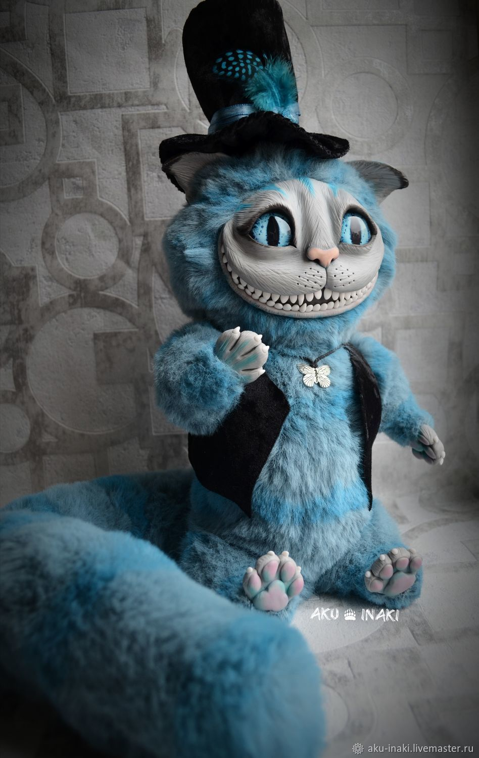 Cheshire cat toy Cheshire doll, Stuffed Toys, Tula,  Фото №1