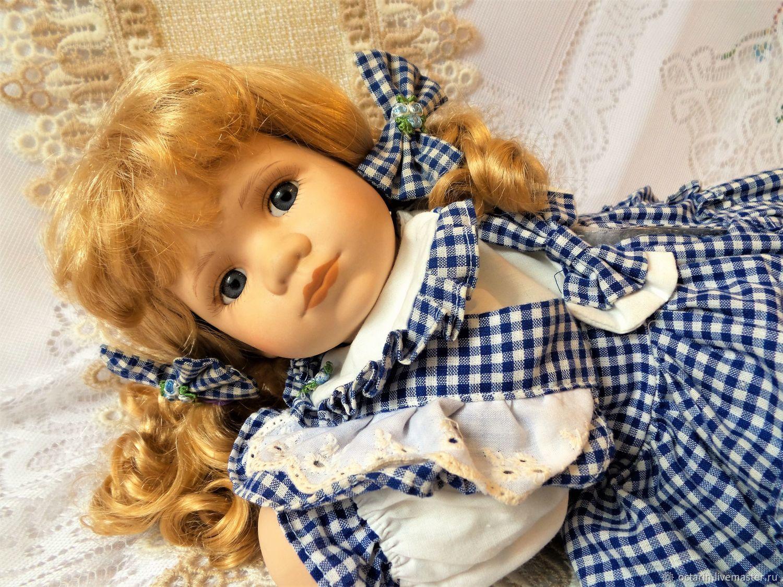 Винтаж: Старинная, винтажная, фарфоровая кукла , красивая кукла, Германия, Куклы винтажные, Байройт,  Фото №1