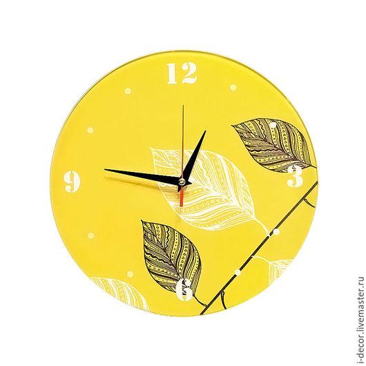 Часы настенные из коллекции Стебель - подарок для дома. Ветка..  Оригинальные часы. Часы в подарок. Подарок на Новый год. Подарок на свадьбу.   Бесшумные часы. Оригинальные часы на кухню, в детскую