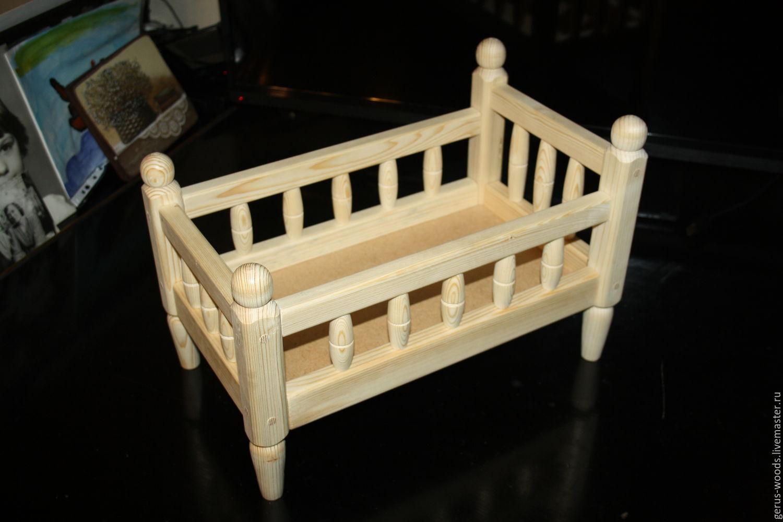 Кровать для куклы. Как сделать кровать для куклы своими руками? 86
