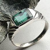 Украшения handmade. Livemaster - original item Natural VS Emerald 1,79 ct, silver emerald ring. Handmade.