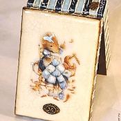 """Для дома и интерьера ручной работы. Ярмарка Мастеров - ручная работа Шкатулка  """"Маленькая мышка"""". Handmade."""