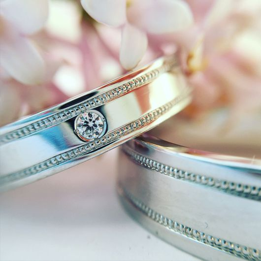 Свадебные украшения ручной работы. Ярмарка Мастеров - ручная работа. Купить Обручальные кольца. Handmade. Обручальные кольца, помолвочное кольцо