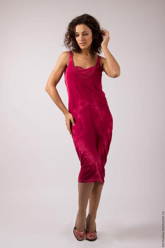 """Платья ручной работы. Ярмарка Мастеров - ручная работа. Купить Платье """"Огонь страсти"""". Handmade. Бордовый, платье, выпускной бал"""