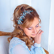 Свадебный салон handmade. Livemaster - original item wedding twig. decoration in her hair.. Handmade.