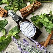 Косметика ручной работы handmade. Livemaster - original item Mix of natural hydrolates Lavender, mint, cinnamon. Handmade.