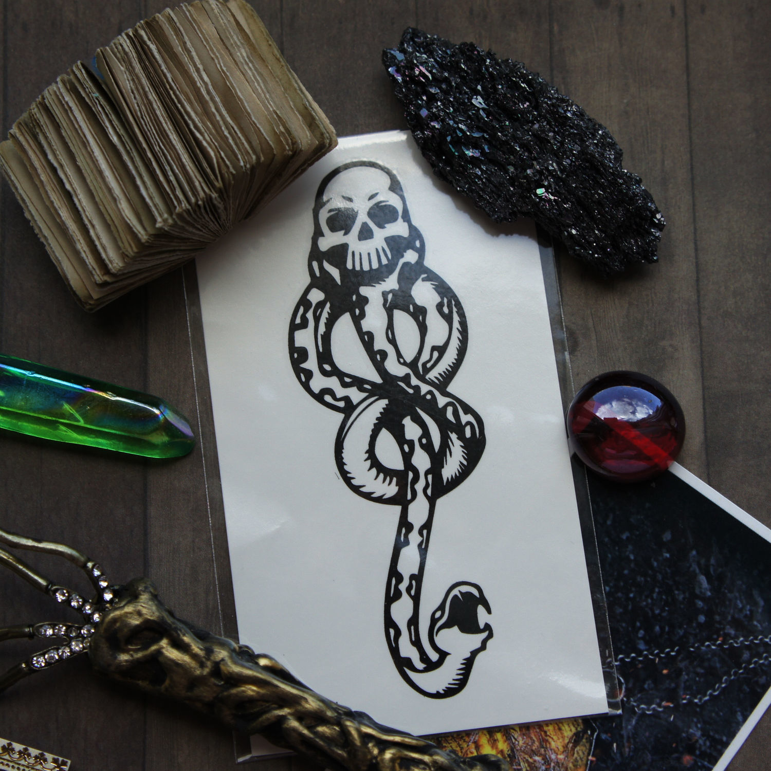Tattoo Death Eaters