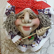 Народная кукла ручной работы. Ярмарка Мастеров - ручная работа Кукла на Удачу Баба-Яга. Handmade.
