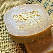Косметика ручной работы. Ярмарка Мастеров - ручная работа Шампуневое мыло с «нуля» «МЕД и КОНЬЯК», шампунь, твердый. Handmade.